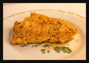 Gâteau aux carottes et aux amandes